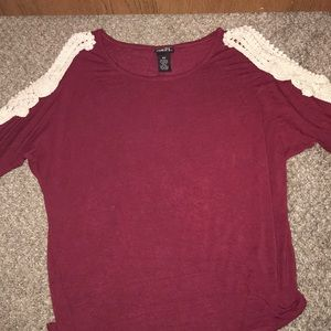 I'm selling!this rue21 shirt women's or kids!